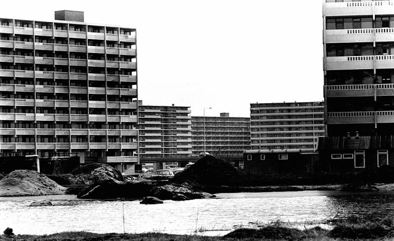 Bijlmer under construction in 1970. Image by Pieter Boersma Photography