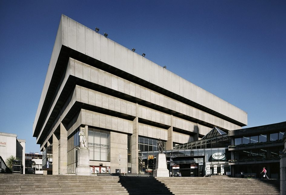 Brutalism >> Paradise Lost Birmingham S Central Library And The Battle Over