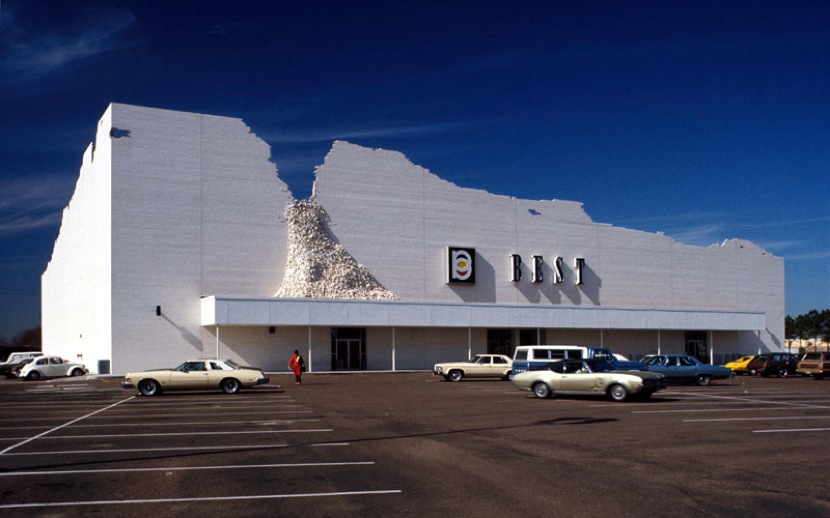 The ironic loss of the postmodern best store facades for Architecture design sites