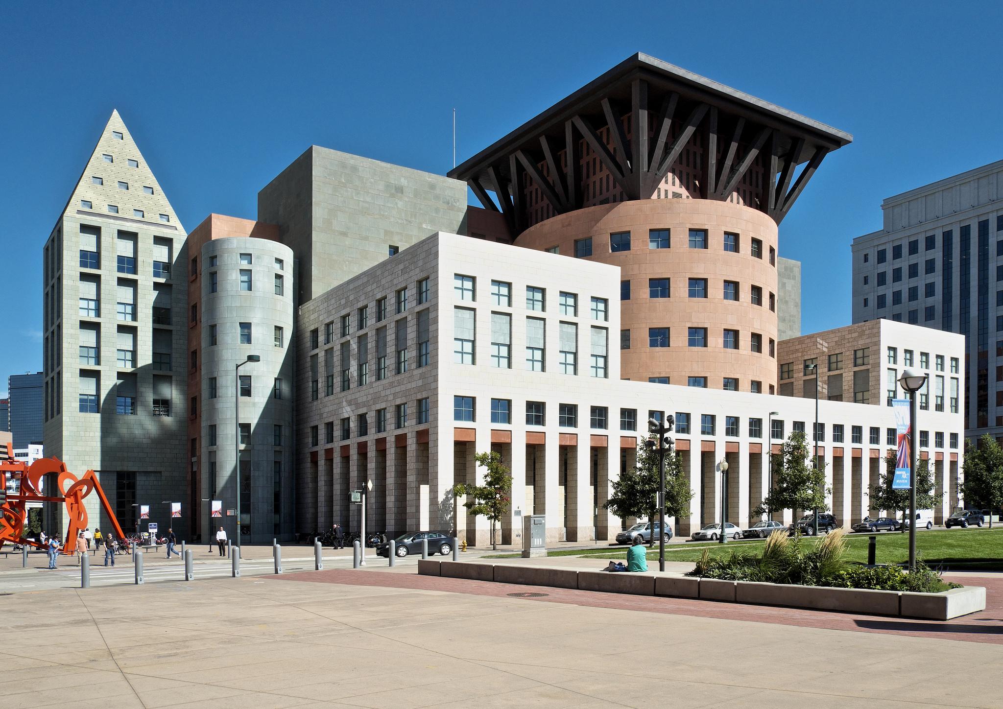 Denver Public Library Michael Graves 1995 8