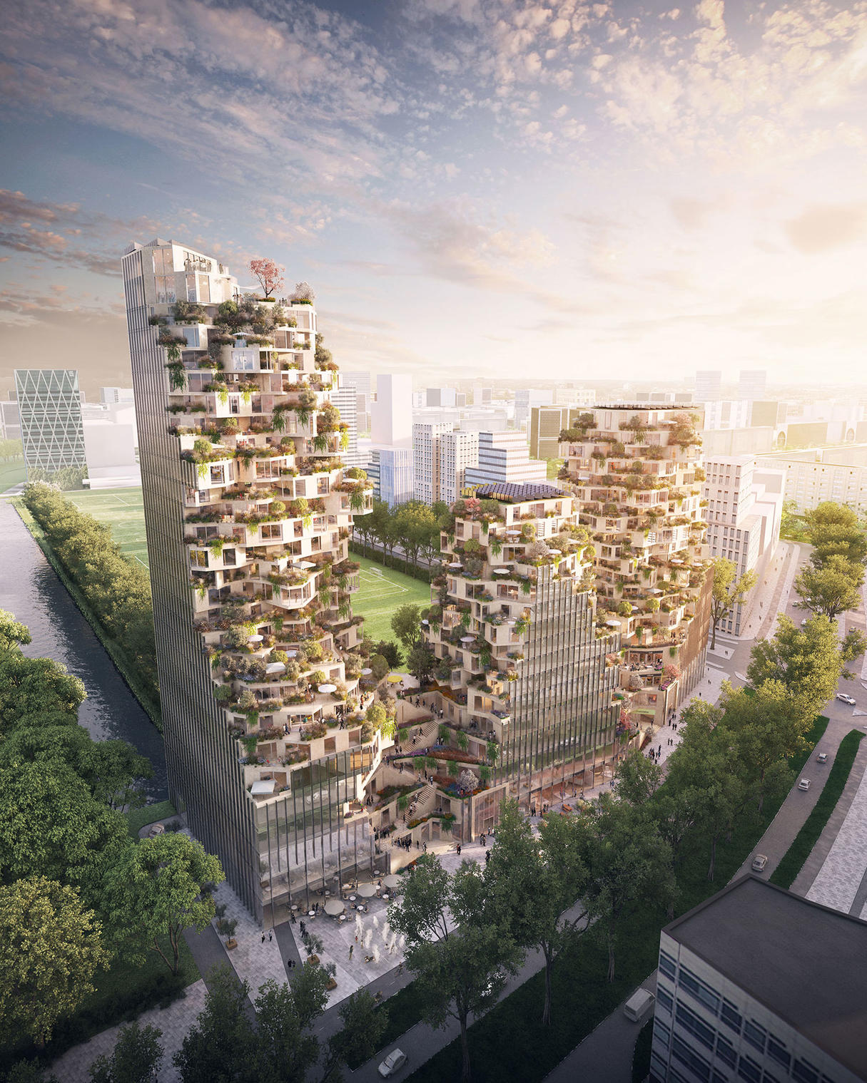What this mvrdv rendering says about architecture and the media