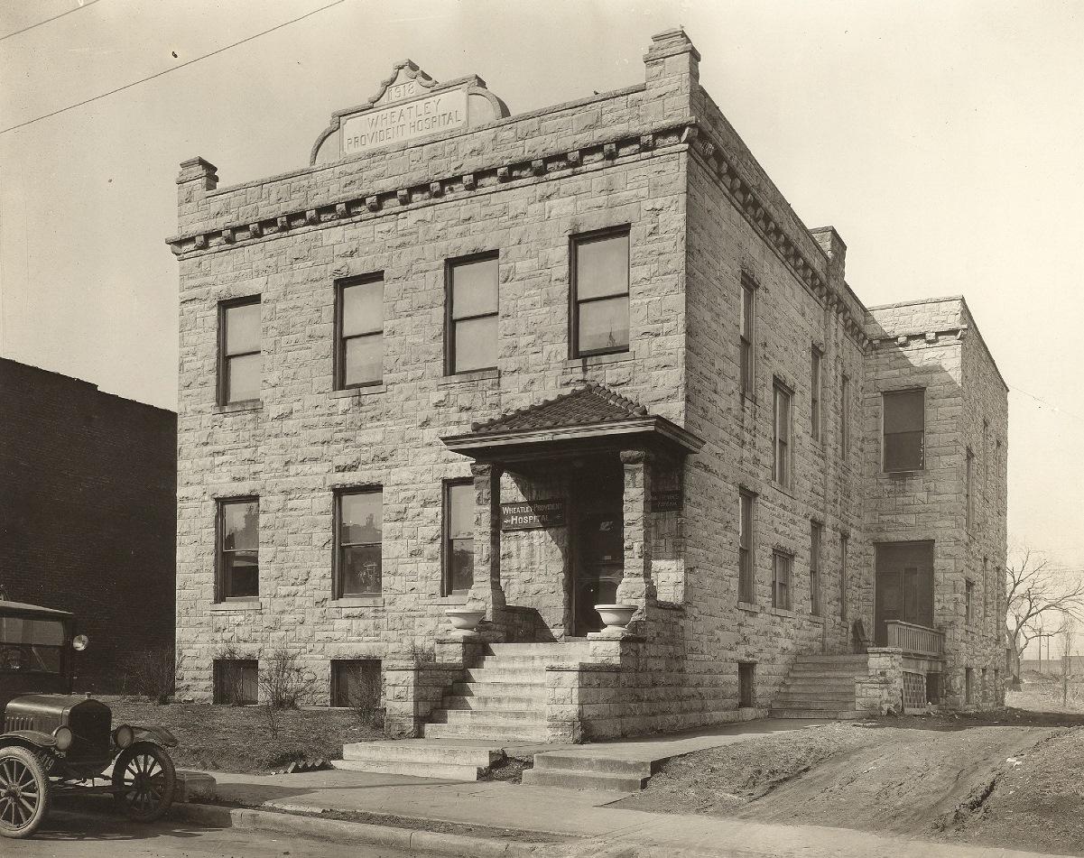 Wheatley Provident Hospital Kansas City S Own Ruin Failed Architecture